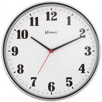 Relógio Parede Herweg 6125 222 Cromado Analógico - Refinado
