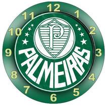 Relógio Parede Decoração Futebol Palmeiras