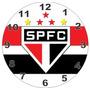 Relógio Parede Decoração Futebol São Paulo