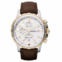Relógio Fossil Masculino Dean Cronograph Ffs4788/z