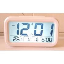 Relógio Digital De Mesa Ou Parede Led Tela Lcd Promoção