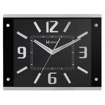Relógio Parede Herweg 6218 034 Preto Analógico - Refinado