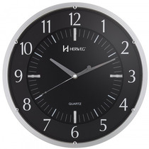 Relógio Parede Herweg 6211 034 Prata Analógico - Refinado