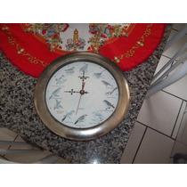 Antigo Relógio De Parede Quartz