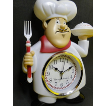 Mestre Cuca !!!!! Relogio Cozinha Cha Cafe Bule Bolo Receita