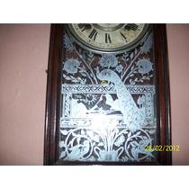 Relogio Antigo De Parede Americano Ansonia Clock