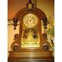 Relíquia Ansonia Parisian Gold Mantel Clock - New York/1880