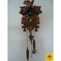 Relógio Cuco Clássico Musical A Pilha Alemanha 522/6qm