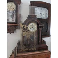 Vidro Decorado (ouro) Para Caixa Relógio Parede Americano