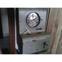 Relógio De Ponto De Parede Ou Mesa Tagus De 1961 A Corda