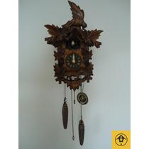 Relógio Cuco Clássico Musical A Pilha Alemanha 922qm