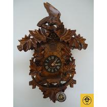Relógio Cuco Clássico Mecânico A Corda Diária Alemão 938