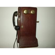 Antigo Telefone De Parede Origínal