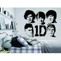 Adesivo Decorativo Parede Quarto Música One Direction Banda