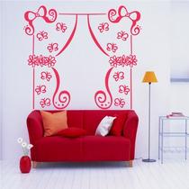 Adesivo Decorativo Cortina Jardim - Tamanho Pequeno