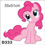 Adesivo Decorativo Infantil My Little Poney D333