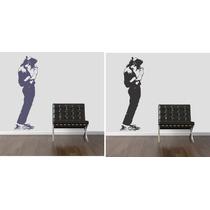 Adesivo Decorativo Parede Quarto Michael Jackson Rock Famoso