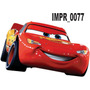 Adesivo Imp77 Infantil Desenho Disney Carros Mcqueen