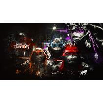Adesivo Infantil Tartarugas Ninjas - Parcelado S/ Juros Ca