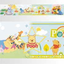 Adesivo 123 Faixa Border Disney Ursinho Pooh 05 Un Mod 243