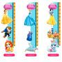 Régua De Crescimento Princesas Disney Adesivo Parede Lindo