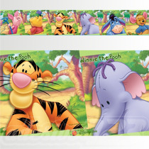 Adesivo 123 Faixa Border Disney Ursinho Pooh 05 Un Mod 242
