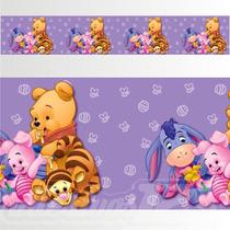 Adesivo 123 Faixa Border Disney Ursinho Pooh 05 Un Mod 236
