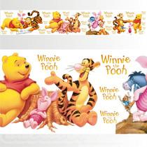 Adesivo 123 Faixa Border Disney Ursinho Pooh 05 Un Mod 239