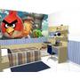 Adesivos Decoração Quarto Angry Birds Painel 5m2