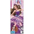Adesivo 123 Porta Decorativo Bailarina Quarto Menina Pr12