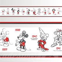 Adesivo 123 Faixa Border Mickey Minnie 05 Un Mod 275