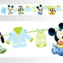 Adesivo 123 Faixa Border Disney Mickey Baby 05 Un Mod 219