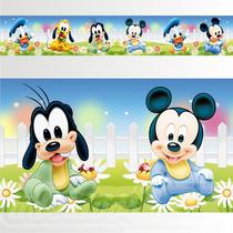 Adesivo 123 Faixa Border Disney Mickey Jardim 05 Un Mod 215