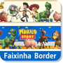 Faixa Border Decorativa Toy Story Adesivo Papel Parede