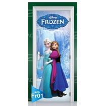 Adesivo Decorativo Portas Porta Decorativa Frozen Disney