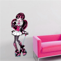 Adesivo Decorativo De Parede - Monster High - Draculaura