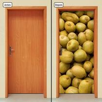 Adesivo Decorativo De Porta - Kiwi - Frutas - 078mlpt