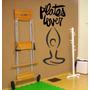 Adesivo Decorativo Para Academias Posições De Pilates - Novo