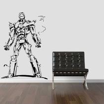 Adesivo Parede Super Herói Homem De Ferro Os Vingadores