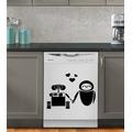 Adesivo Wall-e & Eva 10cm X 7cm | Think Vinil