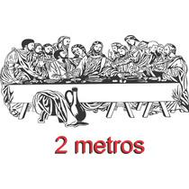 Adesivo Parede Ultima Santa Ceia Giga 2 Metros Frete Grátis!