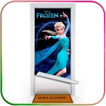Frozen, Elsa, Anna, Olaf - Adesivos Decoração Para Portas