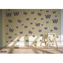 Adesivo De Parede Decorativos Kit Com 68 Borboletas, Cozinha