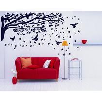 Adesivo Decorativos Galhos Pássaros Árvores Frete Grátis