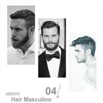 Poster Adesivo Barbearia Corte Cabelo Tesoura Salao Beleza 4