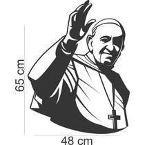 Adesivos Parede Papa Francisco Fé Casa Benção Frete Grátis