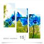 Painel Adesivo Parede Decorativo Flores Orquidea 15