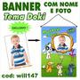 Banner De Aniversário Nome E Foto Tema Cachorro Doki Will147