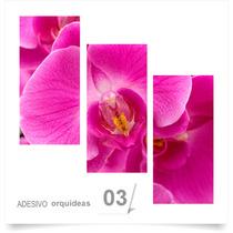 Painel Adesivo Parede Decorativo Flores Orquidea 03