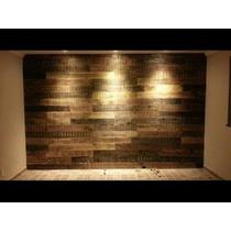 Painel Madeira Tv Revestimento Parede Sala Cozinha